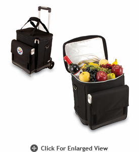 Picnic Time NFL - Cellar w/Trolley Pittsburgh Steelers