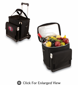 Picnic Time NFL - Cellar w/Trolley San Francisco 49ers