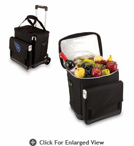 Picnic Time NFL - Cellar w/Trolley Tennessee Titans