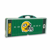 Picnic Time NFL - Hunter Green Picnic Table Sport Green Bay Packers