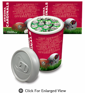 Picnic Time NFL - Mega Can Cooler Arizona Cardinals