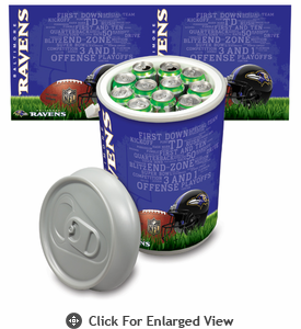 Picnic Time NFL - Mega Can Cooler Baltimore Ravens