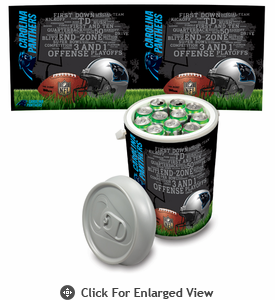 Picnic Time NFL - Mega Can Cooler Carolina Panthers