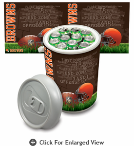 Picnic Time NFL - Mega Can Cooler Cleveland Browns