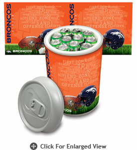 Picnic Time NFL - Mega Can Cooler Denver Broncos