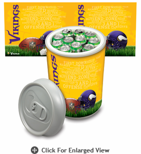 Picnic Time NFL - Mega Can Cooler Minnesota Vikings