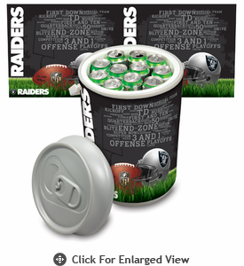 Picnic Time NFL - Mega Can Cooler Oakland Raiders