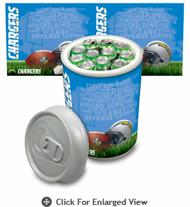 Picnic Time NFL - Mega Can Cooler San Diego Chargers
