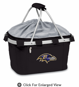 Picnic Time NFL - Metro Basket Baltimore Ravens
