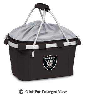 Picnic Time NFL - Metro Basket Oakland Raiders