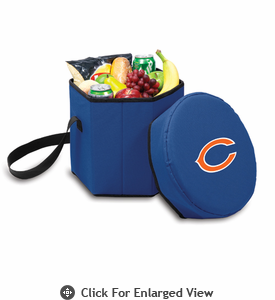 Picnic Time NFL - Navy Blue Bongo Cooler Chicago Bears
