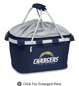 Picnic Time NFL - Navy Blue Metro Basket San Diego Chargers