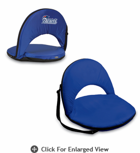 Picnic Time NFL - Navy Blue Oniva Seat New England Patriots