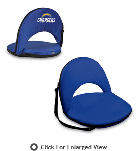 Picnic Time NFL - Navy Blue Oniva Seat San Diego Chargers