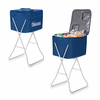 Picnic Time NFL - Navy Blue Party Cube New England Patriots