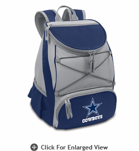 Picnic Time NFL - Navy Blue PTX Backpack Cooler Dallas Cowboys