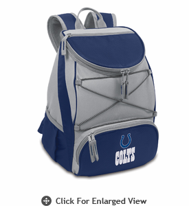 Picnic Time NFL - Navy Blue PTX Backpack Cooler Indianapolis Colts