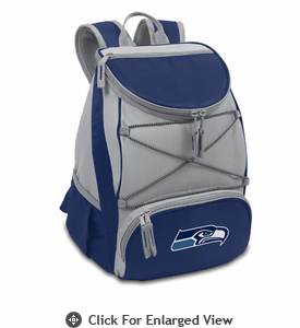 Picnic Time NFL - Navy Blue PTX Backpack Cooler Seattle Seahawks