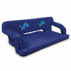 Picnic Time NFL - Navy Blue Reflex Travel Couch Detroit Lions