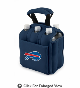Picnic Time NFL - Navy Blue Six Pack Buffalo Bills