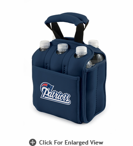 Picnic Time NFL - Navy Blue Six Pack New England Patriots
