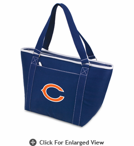 Picnic Time NFL - Navy Blue Topanga Cooler Tote Chicago Bears