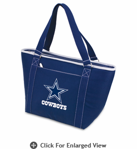 Picnic Time NFL - Navy Blue Topanga Cooler Tote Dallas Cowboys