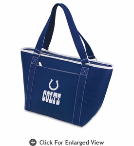 Picnic Time NFL - Navy Blue Topanga Cooler Tote Indianapolis Colts