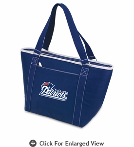 Picnic Time NFL - Navy Blue Topanga Cooler Tote New England Patriots