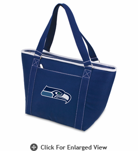 Picnic Time NFL - Navy Blue Topanga Cooler Tote Seattle Seahawks