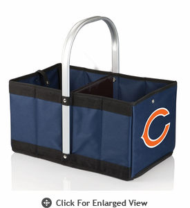 Picnic Time NFL - Navy Blue Urban Basket Chicago Bears
