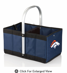Picnic Time NFL - Navy Blue Urban Basket Denver Broncos