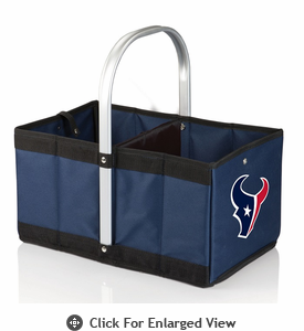 Picnic Time NFL - Navy Blue Urban Basket Houston Texans