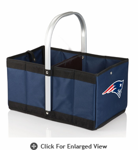 Picnic Time NFL - Navy Blue Urban Basket New England Patriots