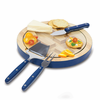 Picnic Time NFL - Navy Blue Ventana Cheese Board Chicago Bears