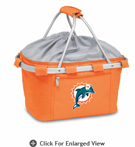 Picnic Time NFL - Orange Metro Basket Miami Dolphins