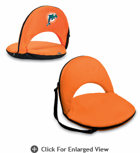 Picnic Time NFL - Orange Oniva Seat Miami Dolphins