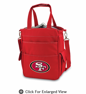 Picnic Time NFL - Red Activo San Francisco 49ers