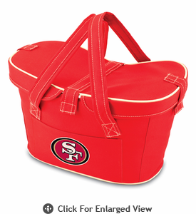 Picnic Time NFL - Red Mercado San Francisco 49ers