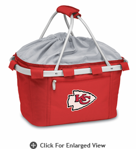 Picnic Time NFL - Red Metro Basket Kansas City Chiefs