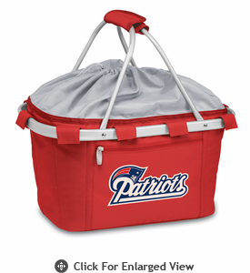 Picnic Time NFL - Red Metro Basket New England Patriots