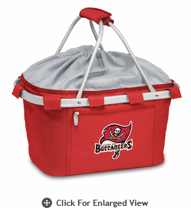 Picnic Time NFL - Red Metro Basket Tampa Bay Buccaneers