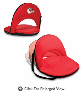 Picnic Time NFL - Red Oniva Seat Kansas City Chiefs