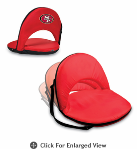 Picnic Time NFL - Red Oniva Seat San Francisco 49ers