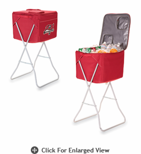 Picnic Time NFL - Red Party Cube Tampa Bay Buccaneers