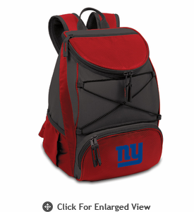 Picnic Time NFL - Red PTX Backpack Cooler New York Giants
