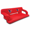 Picnic Time NFL - Red Reflex Travel Couch Houston Texans