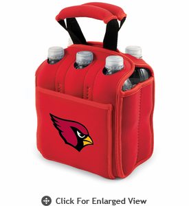 Picnic Time NFL - Red Six Pack Arizona Cardinals