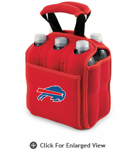 Picnic Time NFL - Red Six Pack Buffalo Bills