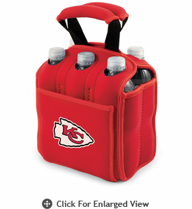 Picnic Time NFL - Red Six Pack Kansas City Chiefs